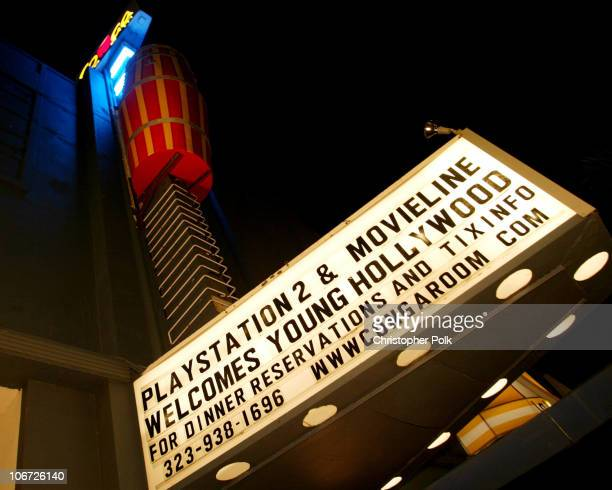 Decor during Playstation 2 Hosts the Movieline Young Hollywood Awards After-Party in Los Angeles, California, United States.