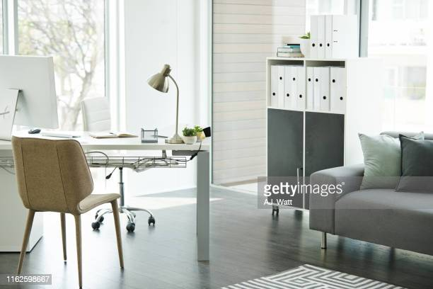 decor that inspires productivity - neat stock pictures, royalty-free photos & images