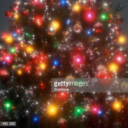 Image result for christmas tree lights close up photo look like stars