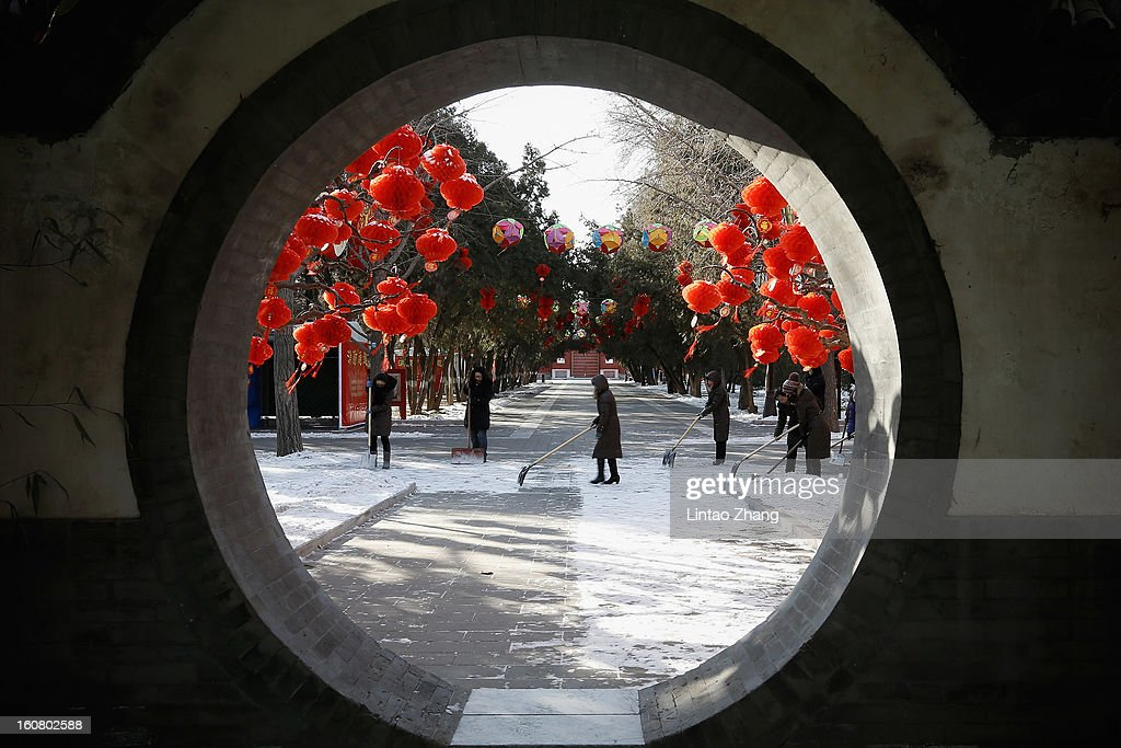 China Prepares For The Spring Festival : News Photo