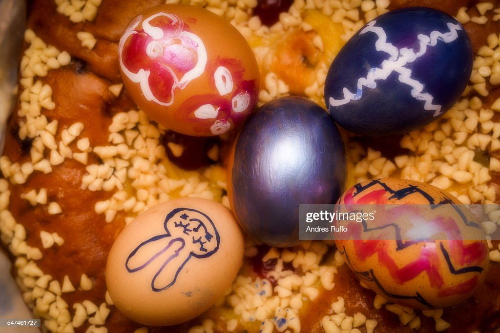 Decorated Easter Eggs : Stock-Foto