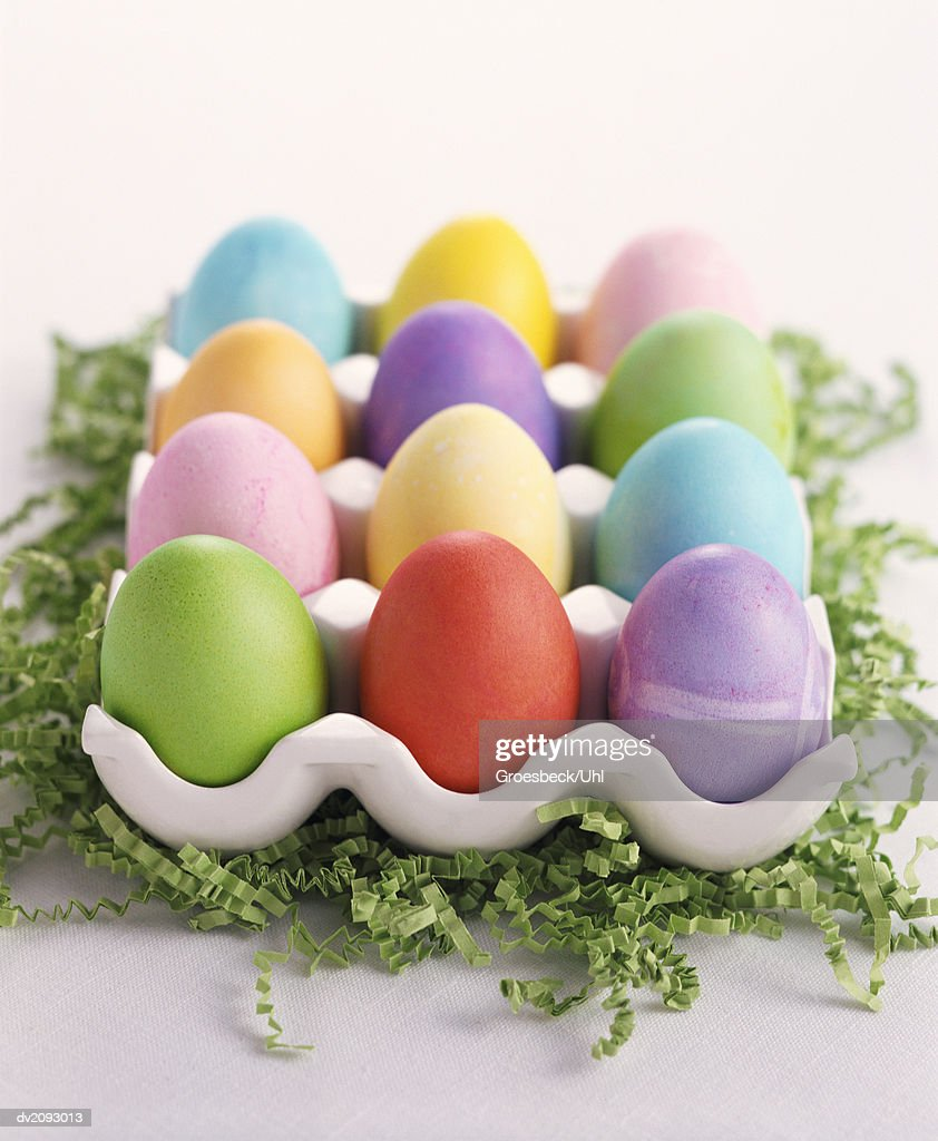 Decorated Eggs : Stock Photo