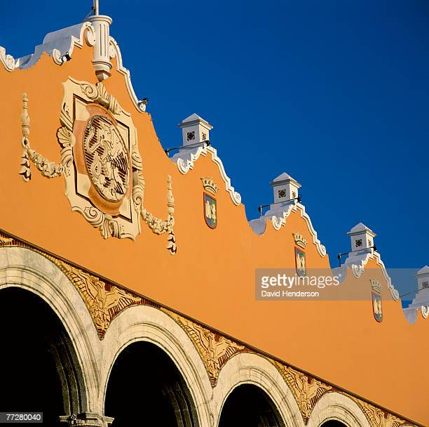 Decorated facade of a building, Spain