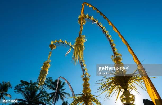 Decorated for Bali Celebration.