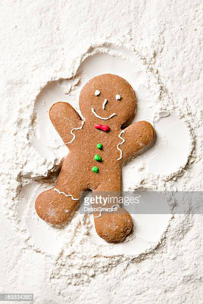Decorated Ginger Snow Angel