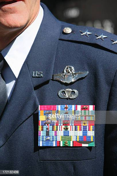 Decorated High Ranking Officer