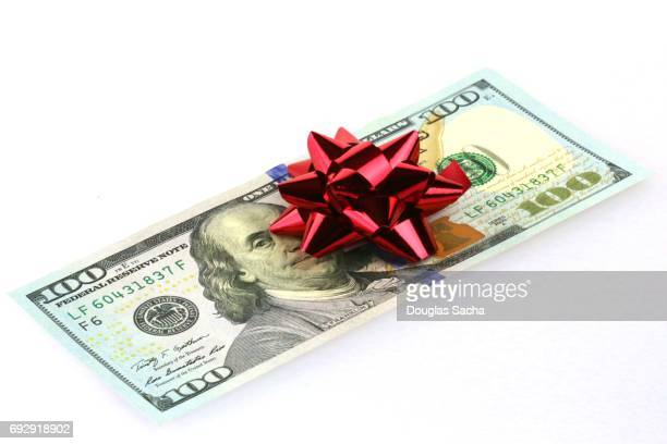 Decorated Money for a gift