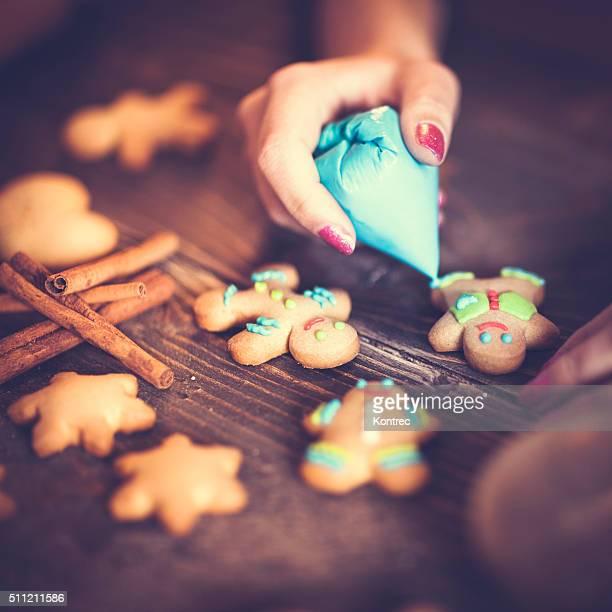Dekorieren Kekse