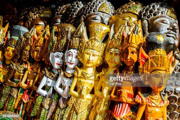 Decoration figures Tirtha Empul Temple Bali Indonesia Asia