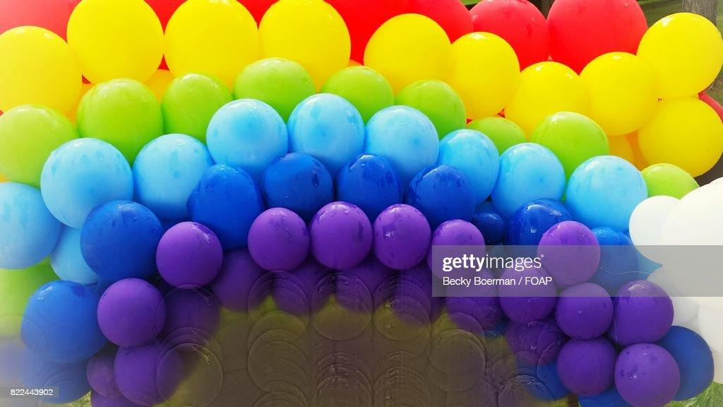 Decoration of balloon : Stock Photo