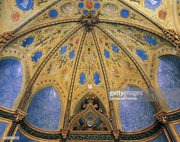Decoration of Trecchi Gradellini Palace in Cremona 19th Century