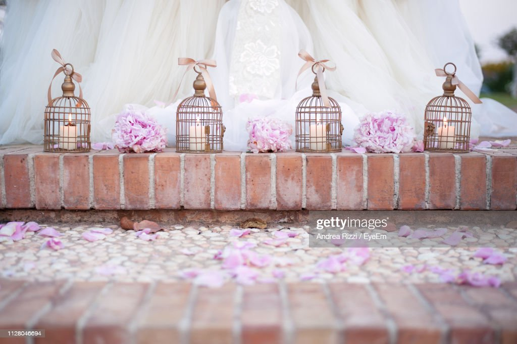 Decorations During Wedding : Foto stock