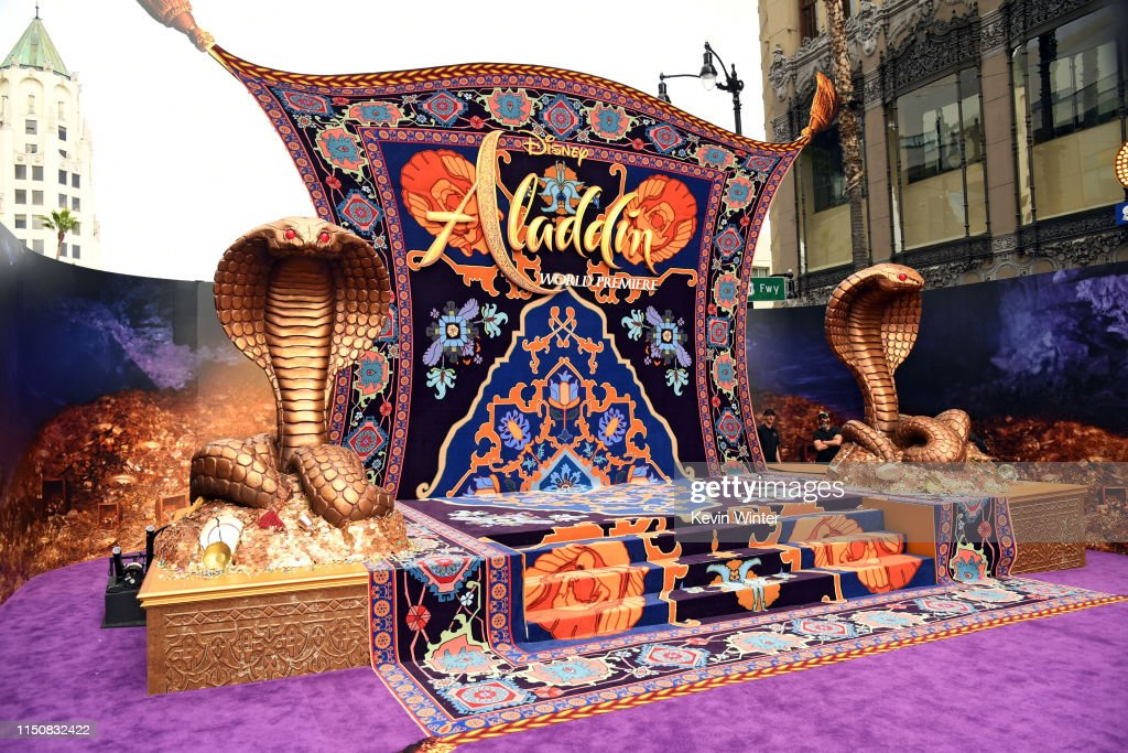 "CA: Premiere Of Disney's ""Aladdin"" - Red Carpet"