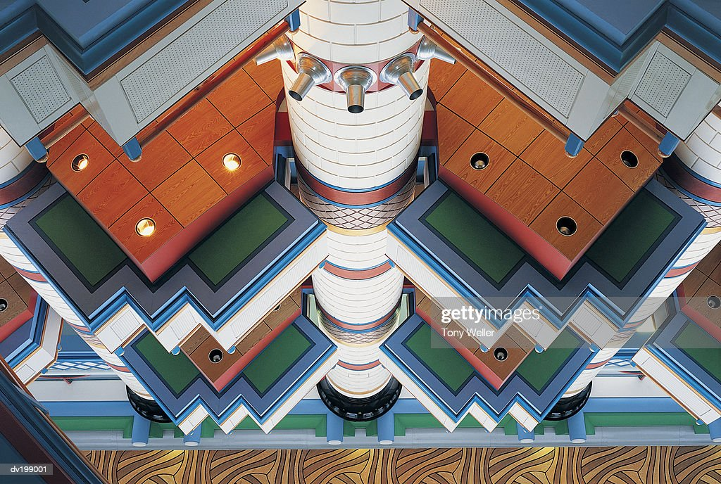 Decorative ceiling : Stock Photo