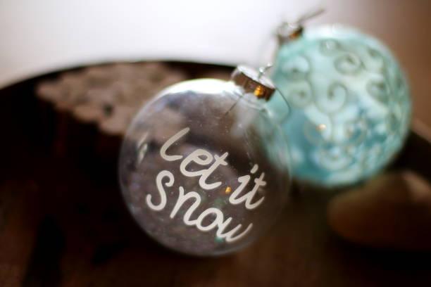 decorative Christmas glass ball