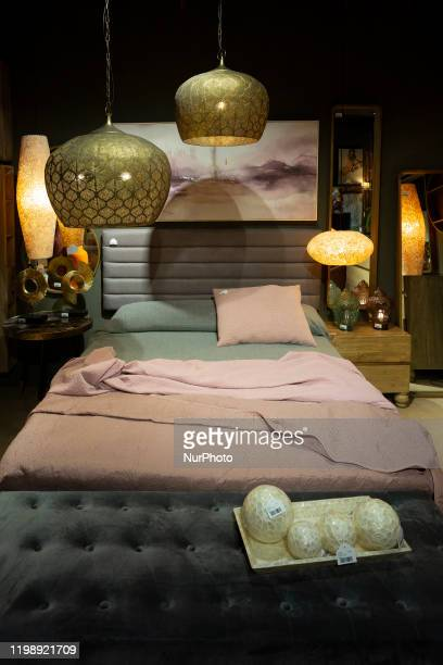 Decorative elements are shown at the INTERGIFT 2020 International Decoration Exhibition at Ifema in Madrid February 6 2020 in Madrid Spain