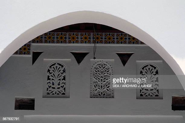 Decorative elements on a patio Palace of the Rais or Bastion 23 Algiers Algeria 16th18th century