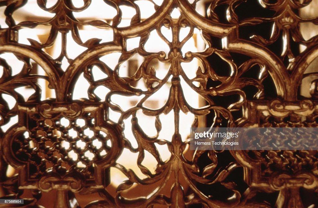 Decorative gate : Stock Photo