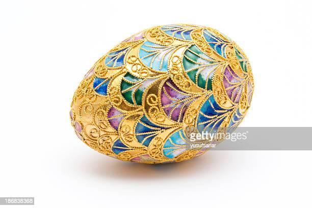 Decorative Golden Easter Egg