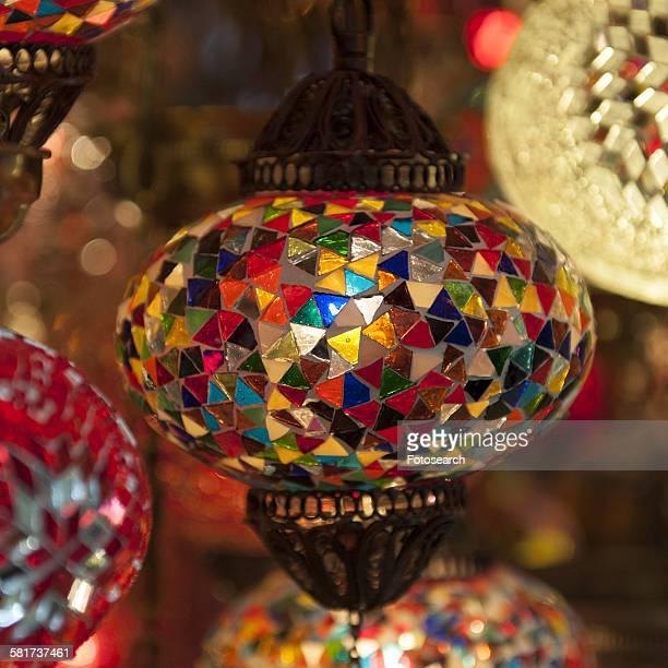 Decorative Turkish lanterns