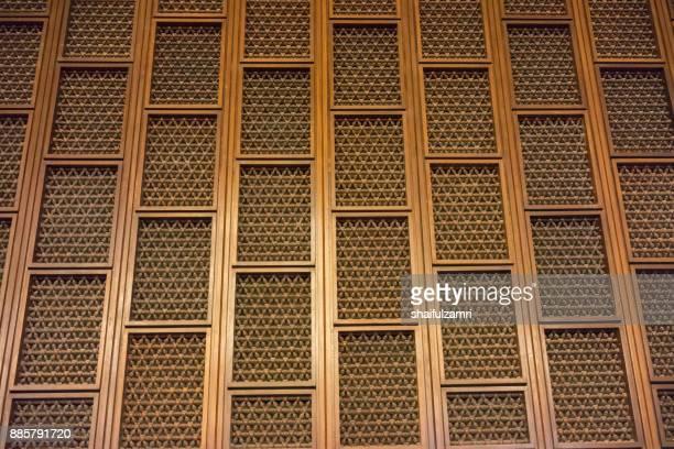 decorative wall inside blue mosque - shaifulzamri 個照片及圖片檔