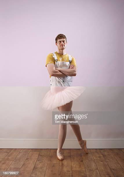 Decorator top, ballet dancer bottom