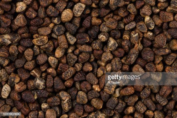 decorticated cardamom seeds close up image can be used for background - for stock pictures, royalty-free photos & images