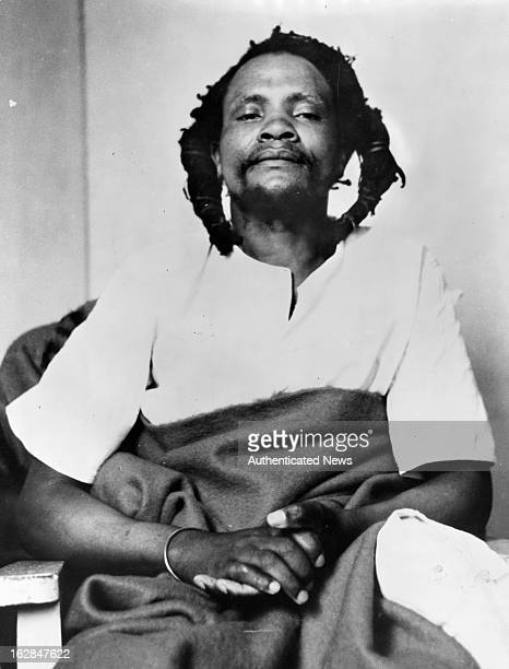 Dedan Kimathi Waciuri shown at his trial in the Nyeri forest led an armed military struggle known as the Mau Mau uprising against the British...