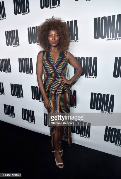 Deddeh Howard attends UOMA Beauty Launch Event at NeueHouse Hollywood on April 25 2019 in Los Angeles California