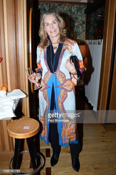 Dede McMahon attends MAC Nordstrom And The CFDA Host The After Party For The Times Of Bill Cunningham at Bistrot Leo on February 13 2020 in New York...