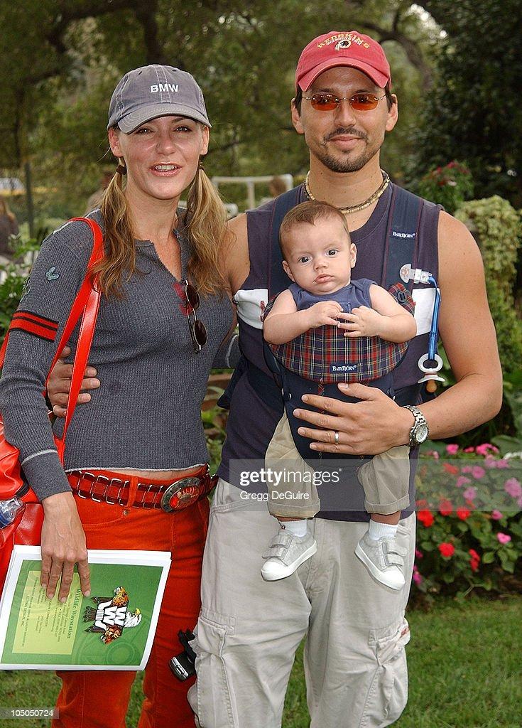 Dedee Pfeiffer, husband Santiago & son Braxten Alexandre