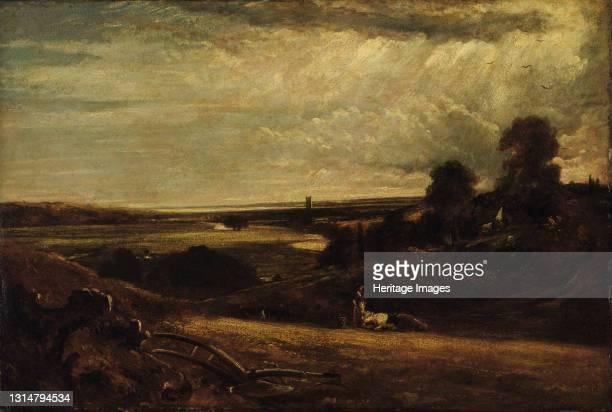 Dedham Vale--Summer Morning, 19th century. Artist Unknown.