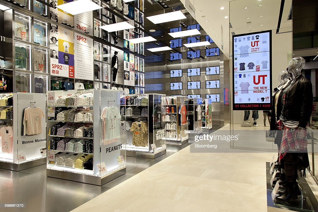 Fast Retailing Co. CEO Tadashi Yanai Interview And The Opening Of the Company's New Uniqlo Flagship Store : News Photo