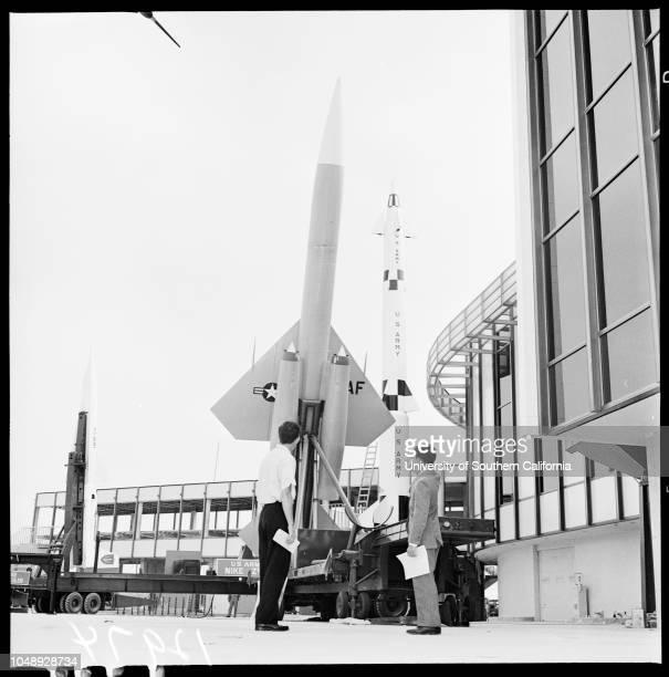 Dedication of new international airport for jets 22 June 1961 Donald DouglasCarl B SquierDoctor Ivan GettingJohn K NorthrupJH 'Dutch'...