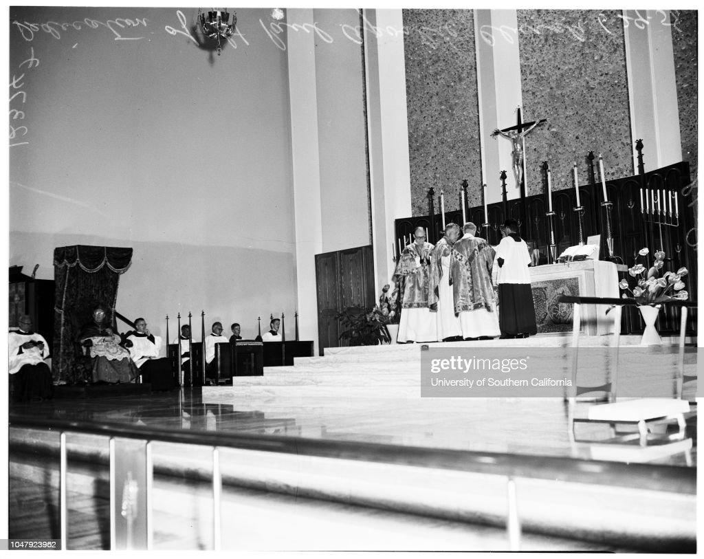 Dedication of Saint Paul the Apostle church, 29 June 1958