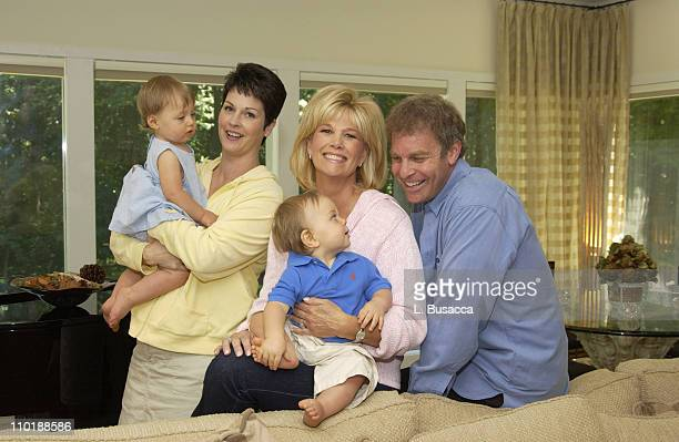 Dedorah Bolig Surrogate Mother of Twins Kate and Max Konigsberg With Joan Lunden and Jeff Konigsberg
