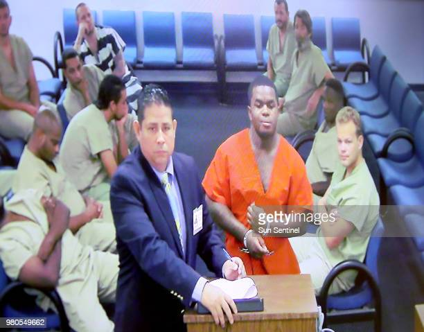 Dedrick Williams who was arrested in connection with the shooting death of rapper XXXTentacion makes his first appearance in Bond Court on June 21...
