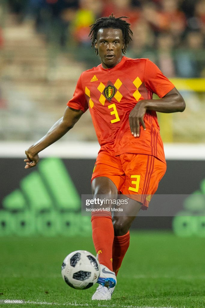 Dedryck BOYATA during a friendly game between Belgium and Portugal , as part of preparations for the 2018 FIFA World Cup in Russia, on June 2, 2018 in Brussels, Belgium. Photo by Frank Abbeloos - Isosport