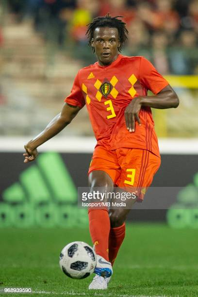 Dedryck BOYATA during a friendly game between Belgium and Portugal as part of preparations for the 2018 FIFA World Cup in Russia on June 2 2018 in...