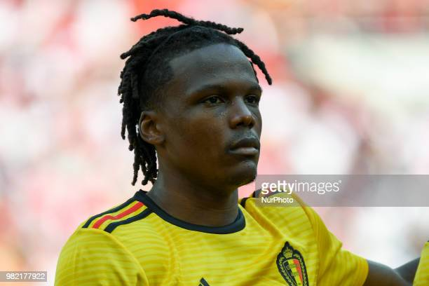 Dedryck Boyata of Belgium during the 2018 FIFA World Cup Group G match between Belgium and Tunisia at Spartak Stadium in Moscow Russia on June 23 2018