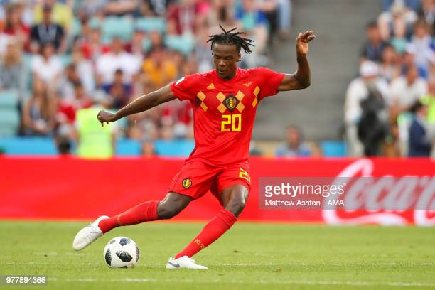 Dedryck Boyata of Belgium in action during the 2018 FIFA World Cup Russia group G match between Belgium and Panama at Fisht Stadium on June 18 2018...