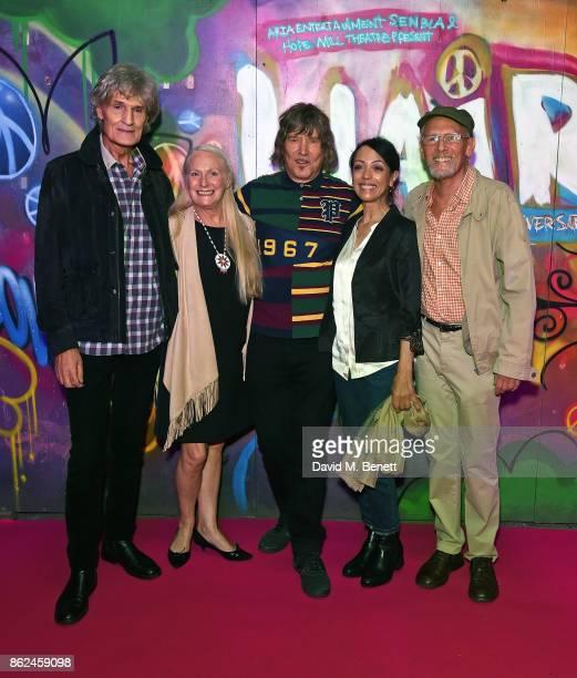 "Dee Christopholous, Jacqueline Whelan, James Rado, Linzi Beuselinck and Paul Nicholas attend the 50th anniversary production of ""Hair: The Musical""..."