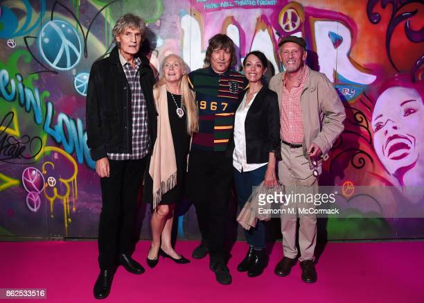 Dee Christopholous, Jacqueline Whelan, James Rado, Linzi Beuselinck and Paul Nicholas attend the 50th Anniversary of 'Hair The Musical' gala night at...