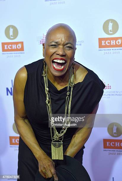 HAMBURG GERMANY MAY Dee Dee Bridgewater attends the Echo Jazz 2015 at the dockyard of BlohmVoss on May 28 2015 in Hamburg Germany