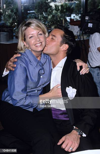 Dee Dee Hemby Dan Cortese during Passion For Fashion 1998 at Hyatt Regency Hotel in San Diego California United States