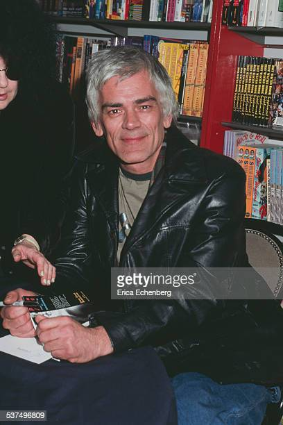 Dee Dee Ramone Helter Skelter Book Store signing of autobiography Denmark Street W1 London United Kingdom January 1997