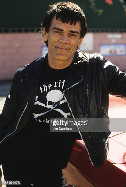Dee Dee Ramone poses for a portrait during a photo session in Los Angeles California on March 14 2000