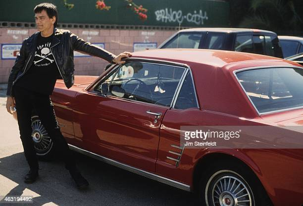 Dee Dee Ramone poses for a portrait during a photo session in Los Angeles, California on March 14, 2000.