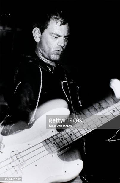 Dee Dee Ramone The Ramones performing on stage Paradiso Amsterdam Netherlands 6th August 1988