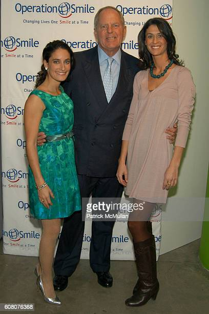 Dee Dee Sides Bill Finneran and Amanda Richman attend Private Holiday Soiree Benefiting Operation Smile at Milk Gallery on December 6 2006 in New...